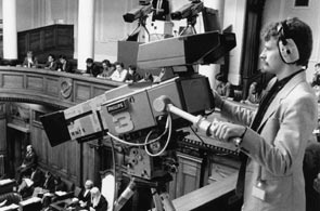 Trial televising of the House, 1986.