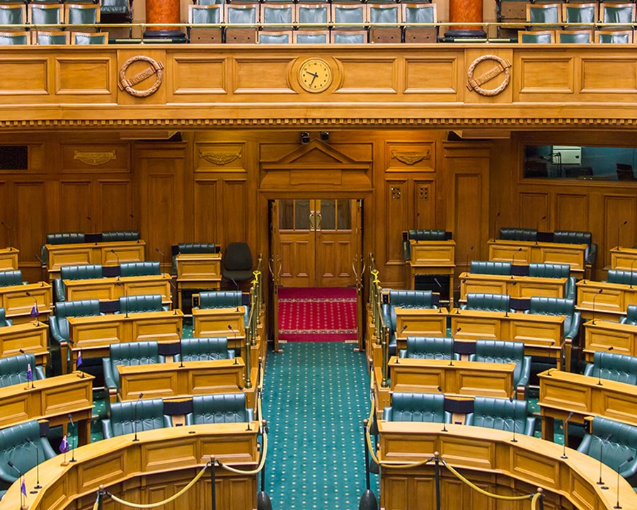 Home Page New Zealand Parliament